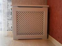 Деревянные решетки экраны на радиаторы отопления (экраны для всех типов батарей), фото 1
