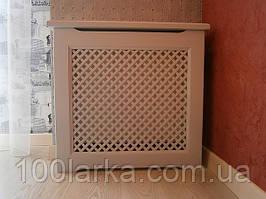 Дерев'яні решітки на екрани радіатори опалення (екрани для всіх типів батарей)