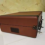 Вініловий програвач/програвач платівок auna коричневий колір з Bluetooth, фото 3