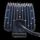 LED (Лед) фара квадратная 48W, (16 диодов х 3 ват = 48 Ват), широкий луч 10/30V 6000K, фото 3