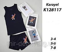 Комплект (майка+боксери) для хлопчиків TM Katamino оптом, Туреччина р.5-6 років (110-116 см)