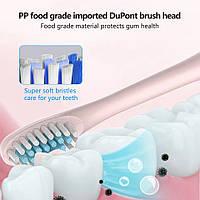 Электрическая зубная щетка Shuke с 4-мя насадками, фото 1
