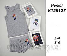 Комплект (майка+боксери) для хлопчиків TM Katamino оптом, Туреччина р.3-4 роки (98-104 см)