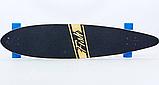 Лонгборд Fish SK-416-1 Черный-синий, фото 3