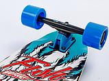 Лонгборд Fish SK-416-1 Черный-синий, фото 5