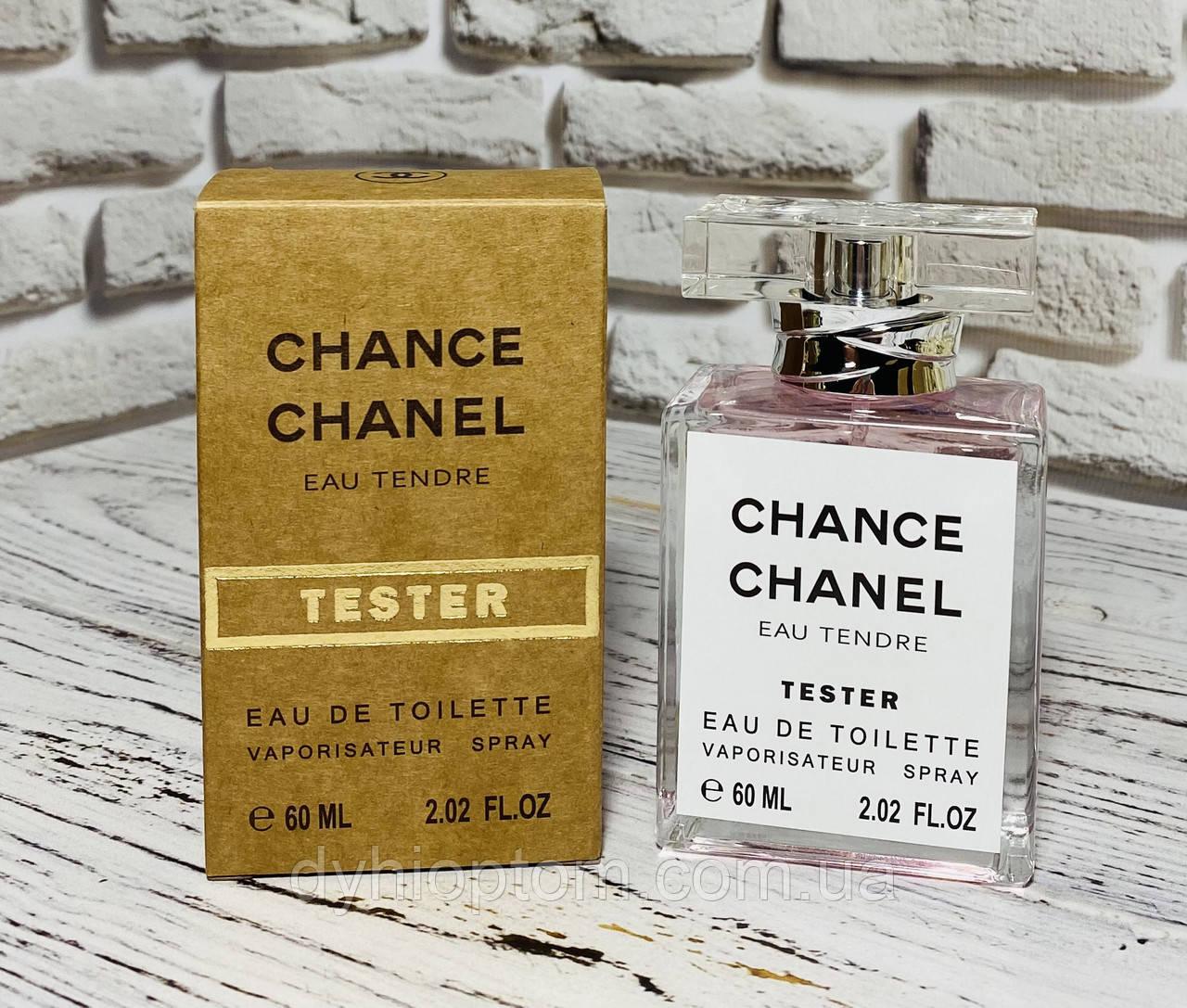 Тестер 60ml Gold для жінок Chanel Chance Eau Tendre