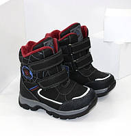 Ботинки для мальчика на липучках 23-28, фото 1