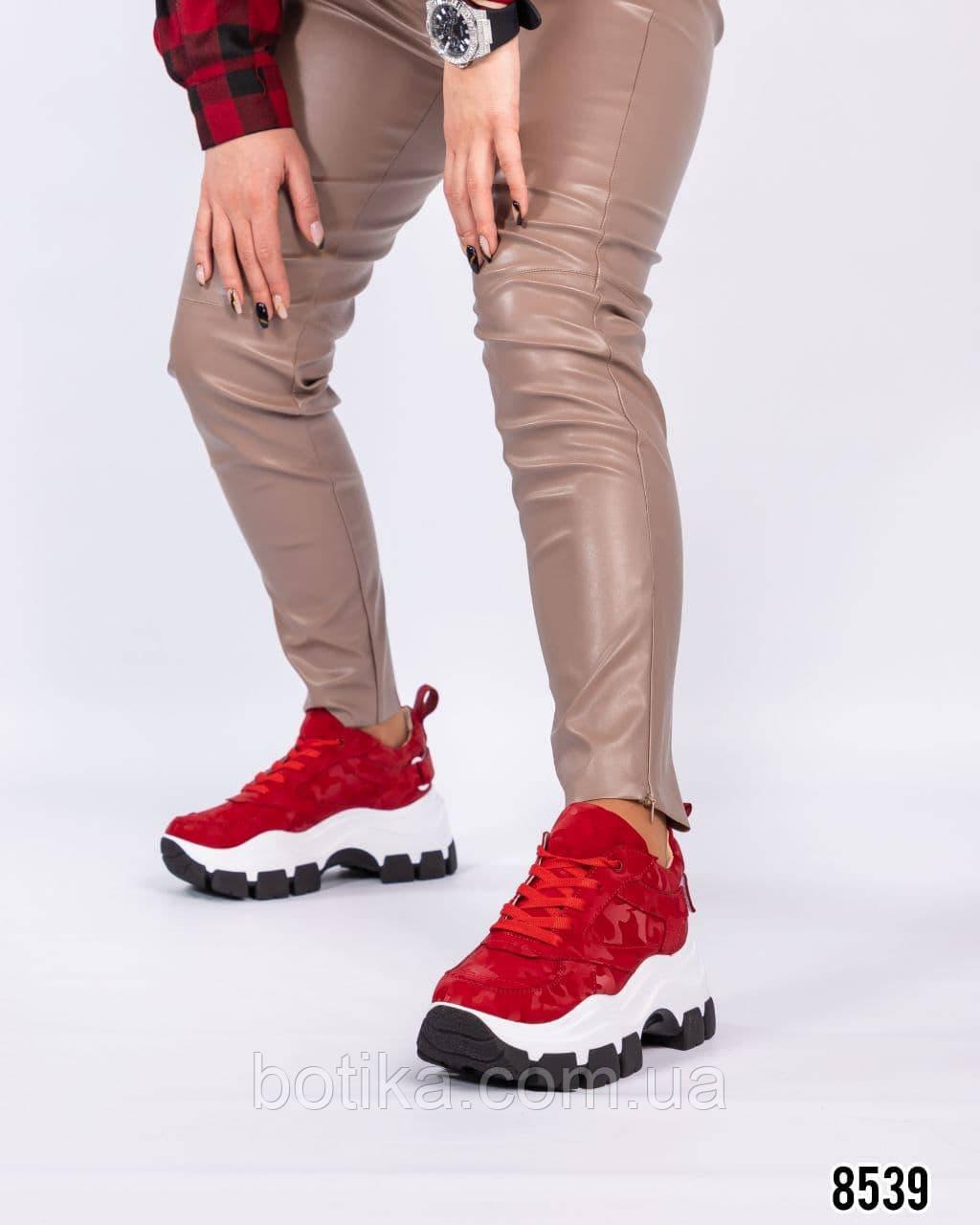Кросівки жіночі на високій підошві