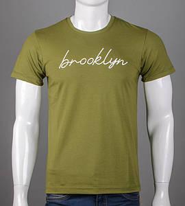 Футболка мужская Brooklyn (5102м), Хаки