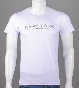 Футболка мужская NewYork (5101м), Белый
