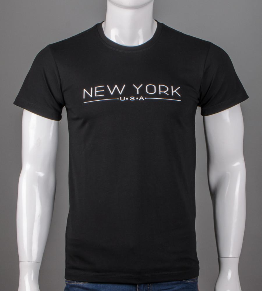 Футболка мужская NewYork (5101м), Черный