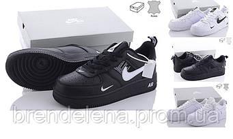Чоловічі кросівки в стилі Nike Air Force натуральна шкіра р.41-46 (код 8477-00)