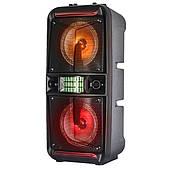Активная акустическая система Ailiang Koval 741 Bluetooth колонка, Колонка 100 Ватт, Светомузыка, Черная