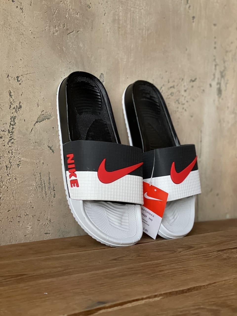 Черные мужские сланцы Nike