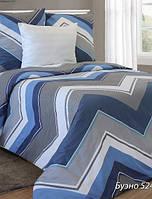 Постельное белье, белорусская бязь, комплект постельного белья Буэно син.
