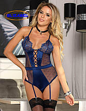 Еротичне боді синє GL 4651