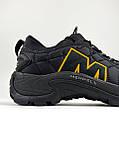 Мужские утепленные кроссовки Merrell Ice Cap Moc II Black Orange, чёрные кроссовки мерелл мок 2, фото 5