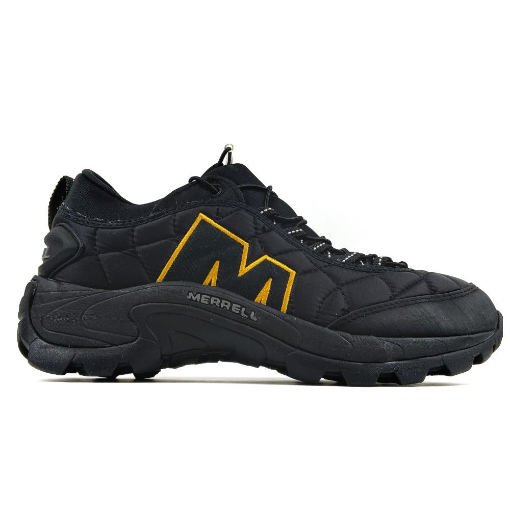 Мужские утепленные кроссовки Merrell Ice Cap Moc II Black Orange, чёрные кроссовки мерелл мок 2