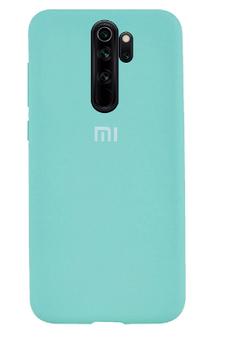 Накладка Silicone Case- Original Full Cover для Xiaomi Redmi Note 8 -мятно-зелёный (1)
