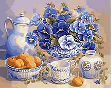 Картина по номерам Летний завтрак, 40х50 ArtStory (AS0018)