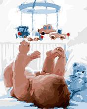 Картина по номерам Малыш, 40х50 ArtStory (AS0093)