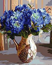 Картина по номерам Букет гортензий, 40х50 ArtStory (AS0677)