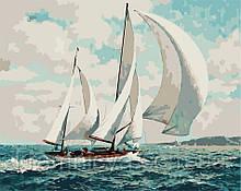 Картина по номерам По морским просторам, 40х50 ArtStory (AS0712)