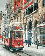 Картина по номерам Зима в городе, 40х50 ArtStory (AS0853)