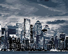 Картина по номерам Свет ночного города, 40х50 ArtStory (AS0860)