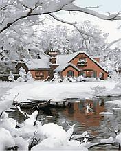 Картина по номерам Уютная зима, 40х50 ArtStory (AS0861)
