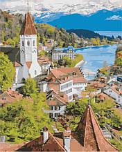Картина по номерам Швейцарский город, 40х50 ArtStory (AS0862)