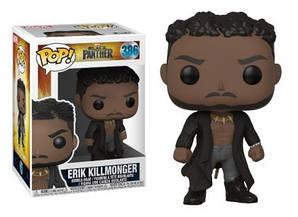 Фигурка Funko Pop Фанко Поп Эрик Килмонгер Черная Пантера Erik KillmongerBlack Panther 10 см BP EK386