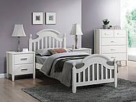 Односпальная кровать, Signal Lizbona 90X200 (LIZBONA90), Белый