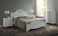 Двуспальная кровать, Signal Malta 160X200 (MALTAŁ160B), Белый