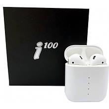 Бездротові Bluetooth-навушники Sensor I100 TWS Stereo Pop-Up
