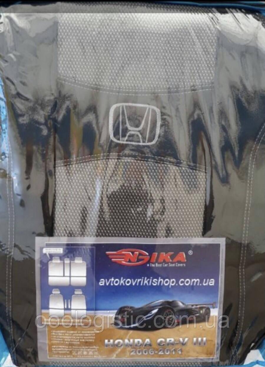 Авточехлы Nika на Honda CR-V 3 2006-2011 ,Хонда CR-V 3 2006-2011 года