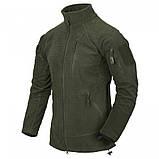 Флісова кофта ALPHA Tactical - Grid Fleece камуфляж MultiCam, Helikon-Tex, фото 4