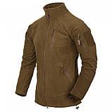 Флісова кофта ALPHA Tactical - Grid Fleece камуфляж MultiCam, Helikon-Tex, фото 5