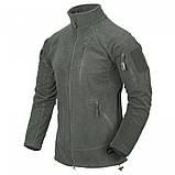 Флісова кофта ALPHA Tactical - Grid Fleece камуфляж MultiCam, Helikon-Tex, фото 2