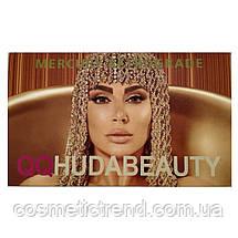 Палетка тіней QQ Huda Beauty The New Nude Mercury Retrograde Eyeshadow Palette (18 кольорів) Новинка!, фото 2