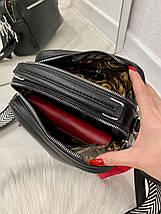 Женская сумка Feel на 2 отделения с двумя ремешками пудра СФ26, фото 3