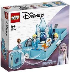 Lego Disney Princesses Книга сказочных приключений Эльзы и Нока Лего дисней 43189
