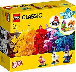 Lego Classic Прозрачные кубики Лего классик 11013