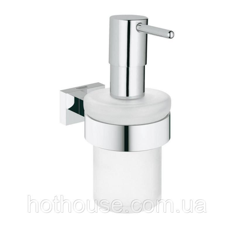 Дозатор для рідкого мила Grohe Essentials Cube 40756001