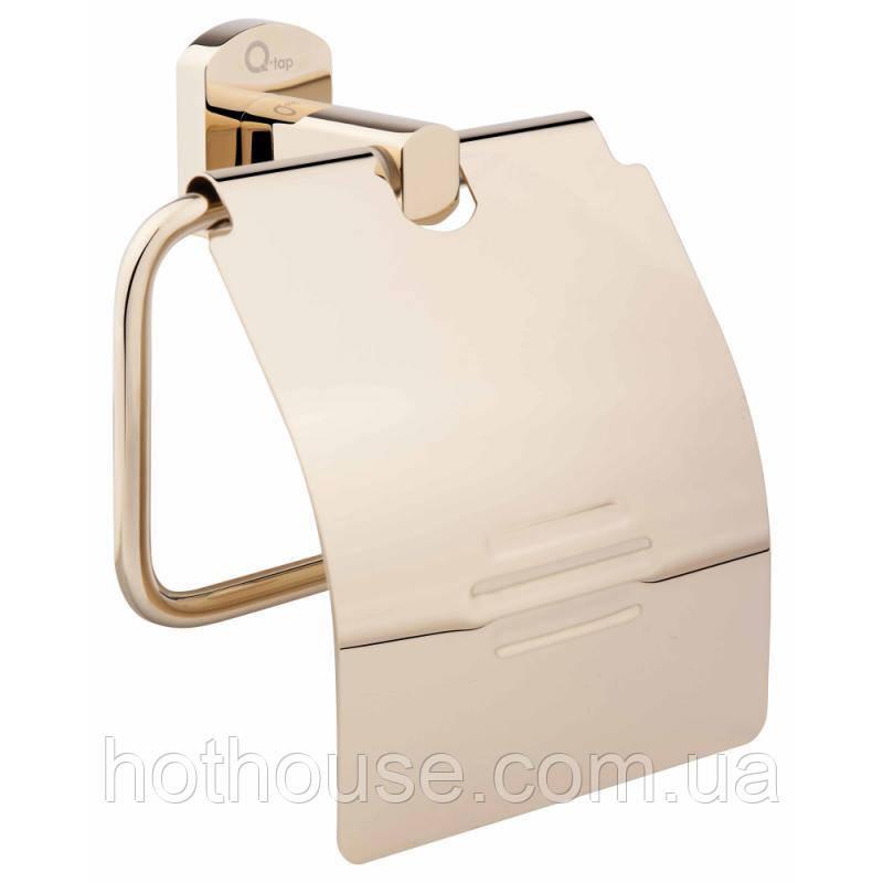Тримач для туалетного паперу Q-tap Liberty 1151 ORO