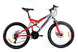 Велосипед Azimut Scorpion Skilful  24 х 17, фото 4