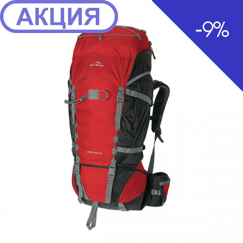 Рюкзак Fjord Nansen HIMIL 60+10 cherry/black new