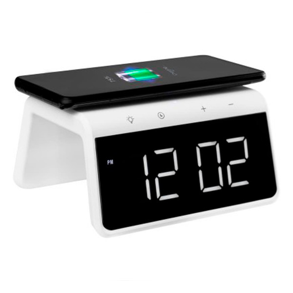 Смарт-годинник Gelius Pro Smart Desktop Clock Time Bridge GP-SDC01 + Wireless Charging
