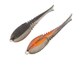"""Поролоновая рыбка Профмонтаж Dancing Fish 3.5"""" reverse tail col.801"""