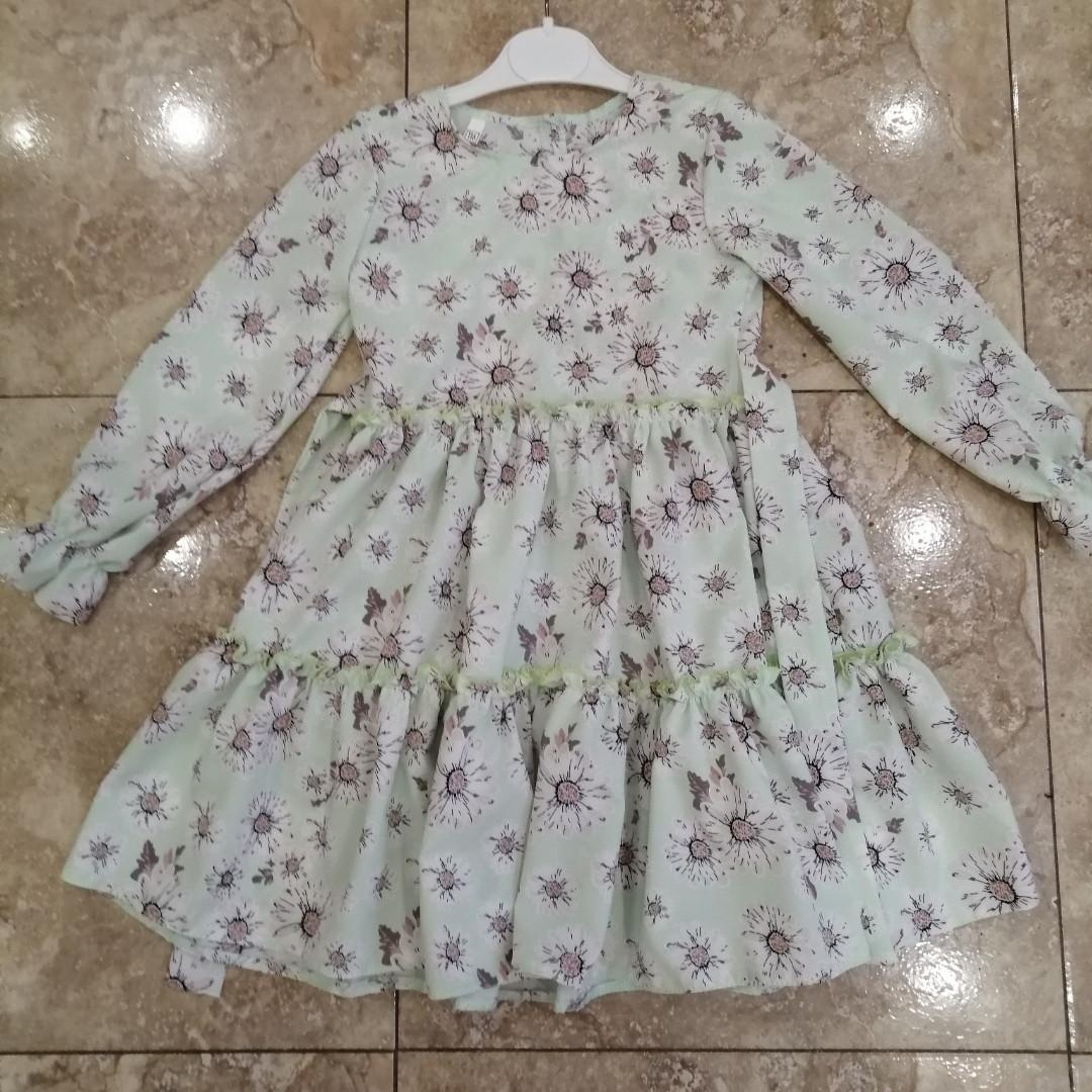 Детские платья с оборками